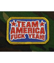 Patch brodé Team America - Full Color