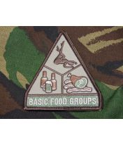 Patch brodé Basic Food Groups - Multicam