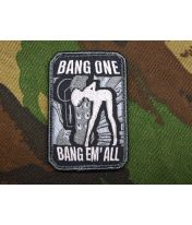 Patch brodé Bang'Em All - Swat