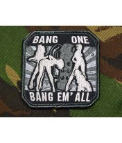 Patch brodé Bang'Em All (large) - Swat