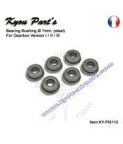 Bagues d'engrenages métal renforcées 7mm avec roulements