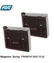 Pack de 2 chargeurs pour FRANCHI SAS 12