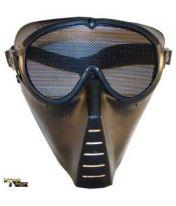 Masque Airsoft perforé Noir
