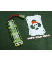 Pack 8.4v 600mAh Sanyo KR600AE - Type mini