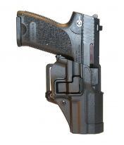 Holster SERPA - USP Compact - Droitier - Noir mat