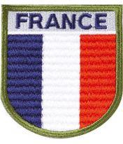 Ecusson brodé France haute visibilité